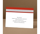 Band of Silver - Scarlet - Reception Card