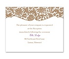 Lace Trim - Reception Card