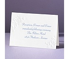 Interlocking Hearts - Reception Card