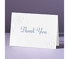 Interlocking Hearts - Thank You Card and Envelope