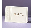 Majestic Flowers - Thank You Card and Envelope