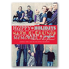 Joyful Memories - Photo Holiday Card