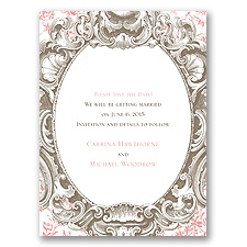 Fancy Frame Save the Date