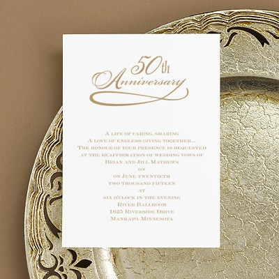 50th Wedding Anniversary Invitations In Spanish Wedding – Wording for 50th Wedding Anniversary Invitations