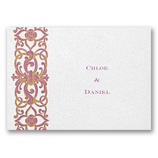 Disney - Romantic Imagination Note Card - Rapunzel