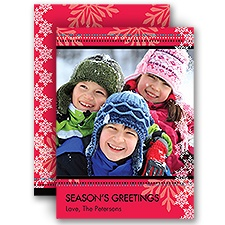 Snow Day - Photo Holiday Card