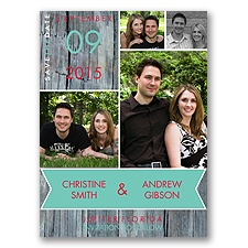 Rustic Banner Photo Save the Date