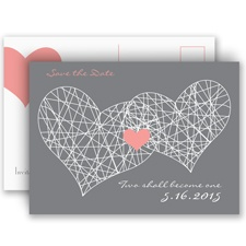 Heart Web Save the Date
