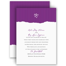 Mrs. and Mrs. Wedding Invitation