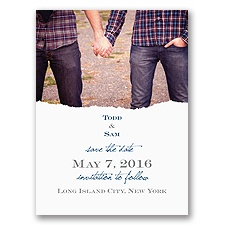 Mister and Mister Save the Date