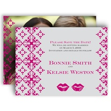 Smooches - Save the Date Card