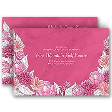 Lots of Blossoms - Honeysuckle - All in One Invitation