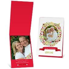 Sweet Wreath - Photo Holiday Card