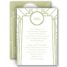 Best Impression Wedding Invitation