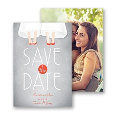 Dancing Shoes Mrs. and Mrs. Save the Date