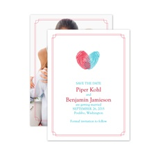 Love Identified - Save the Date Card