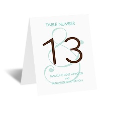 Happy Together - Table Card