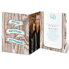 Gettin' Hitched Wedding Invitation