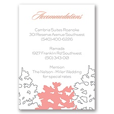 Tree Line Sketch - Accommodations Card