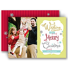 Very Merry - Photo Holiday Card