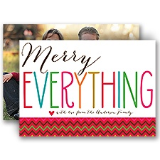 Merry Everything - Photo Holiday Card