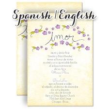 wedding invitation wording samples in spanish  the best flowers ideas, Wedding invitations
