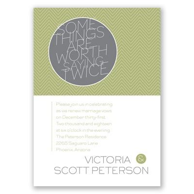 Wedding Vow Renewal Invites as luxury invitations ideas