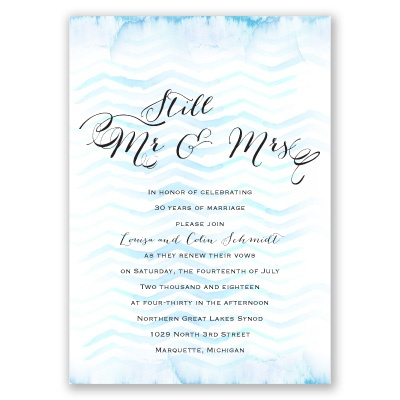 Wedding Vow Renewal Invitation Wording