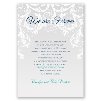 Vows Renewal Invitations for good invitation sample