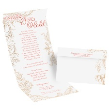 Yours to Hold Seal and Send Wedding Invitation