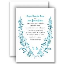 Glimmer and Glow Palm Faux Glitter Wedding Invitation