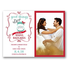 Good Things Holiday Card Photo Save the Date