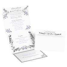 Our Love Seal and Send Wedding Invitation