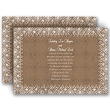 Antique Lace - Invitation
