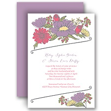 Whimsy and Wonder Wedding Invitation