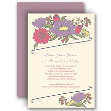 Whimsy and Wonder - Ecru - Invitation