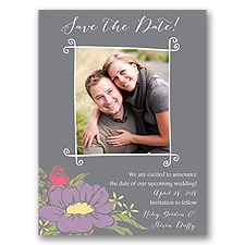 Whimsy and Wonder - Save the Date Card