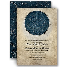 Constellations Wedding Invitation