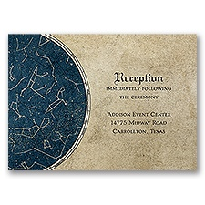 Constellations - Reception Card