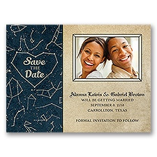 Constellations - Save the Date Card