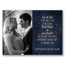 Star Gazer - Save the Date Card