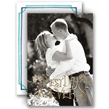 Sweet Moment - Gold - Foil Invitation