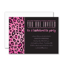 Disney - Wild Style Real Glitter Bachelorette Invitation - Miss Piggy