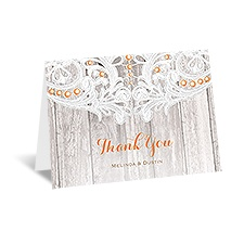 Country Affair - Thank You Card