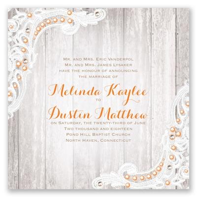 affair wedding invitation david tutera at invitations by dawn