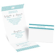 Geo Chic - Seal and Send Invitation