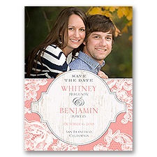 Lace Love Photo Save the Date