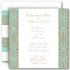 Grand Presentation Wedding Invitation