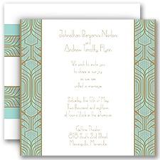 Grand Presentation Wedding Invitation