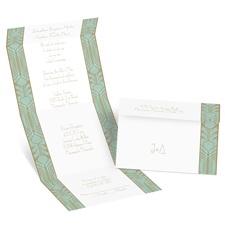 Grand Presentation Seal and Send Wedding Invitation